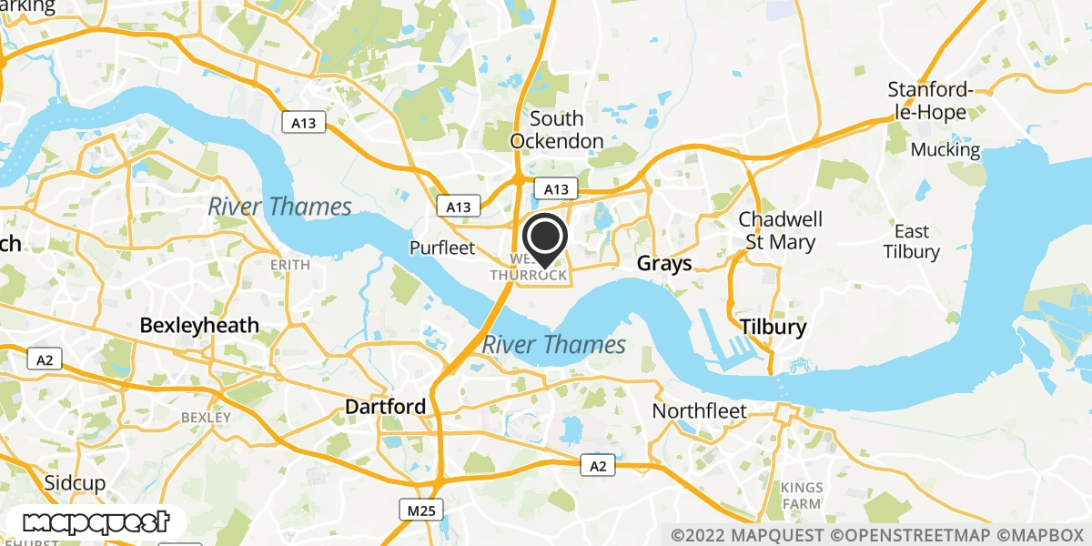 local map of watch repair drop off points in Grays, Essex | Repairs by Post
