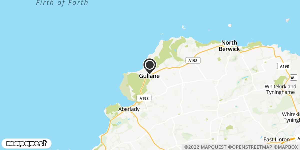 local map of watch repair drop off points in Gullane, Lothian | Repairs by Post