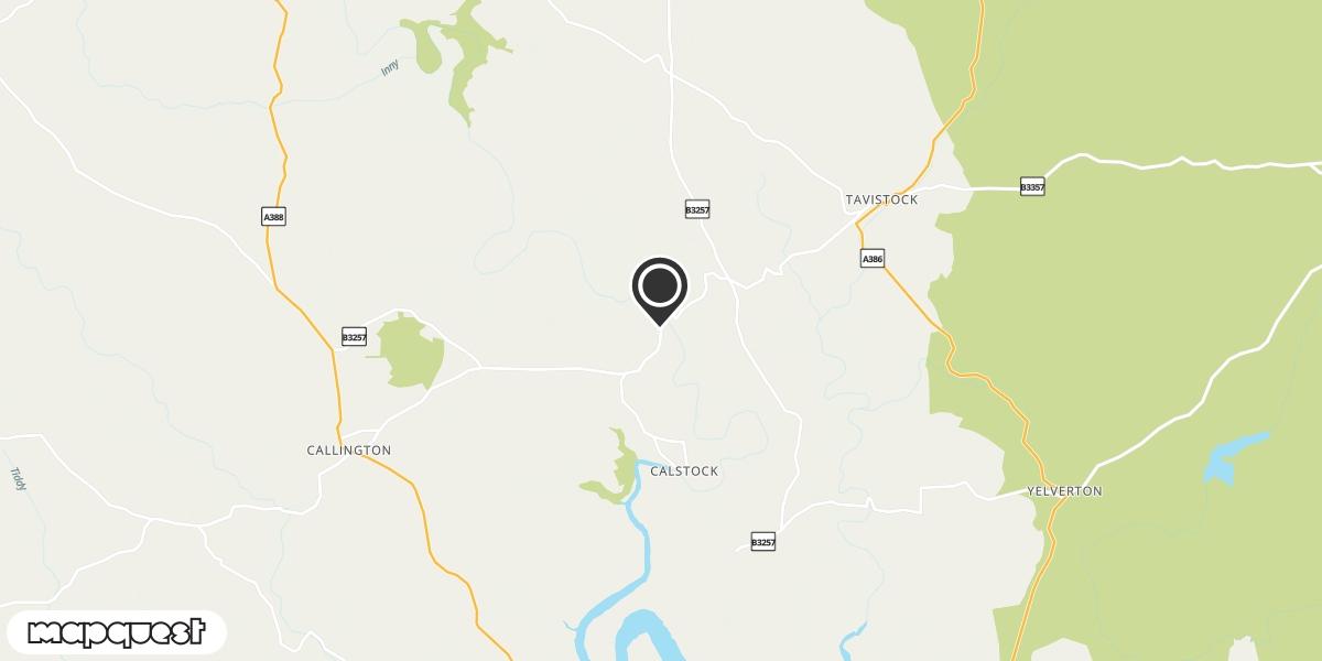 local map of watch repair drop off points in Gunnislake, Cornwall | Repairs by Post