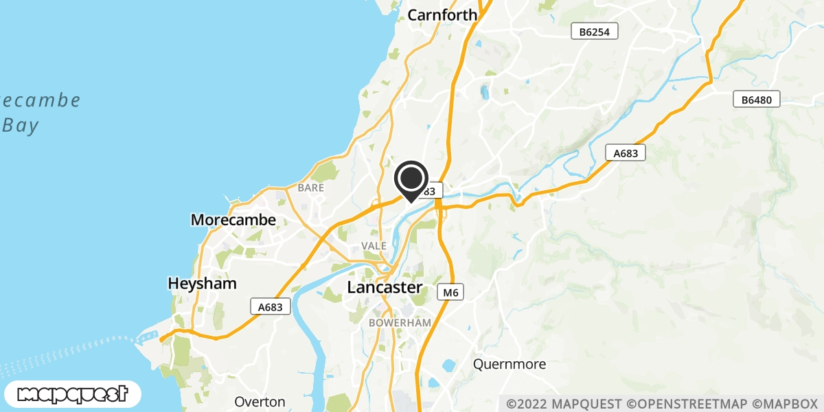 local map of watch repair drop off points in Halton, Lancashire | Repairs by Post