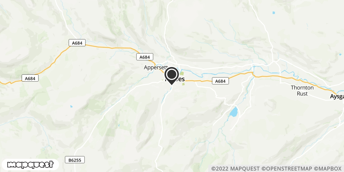 local map of watch repair drop off points in Hawes, North Yorkshire | Repairs by Post
