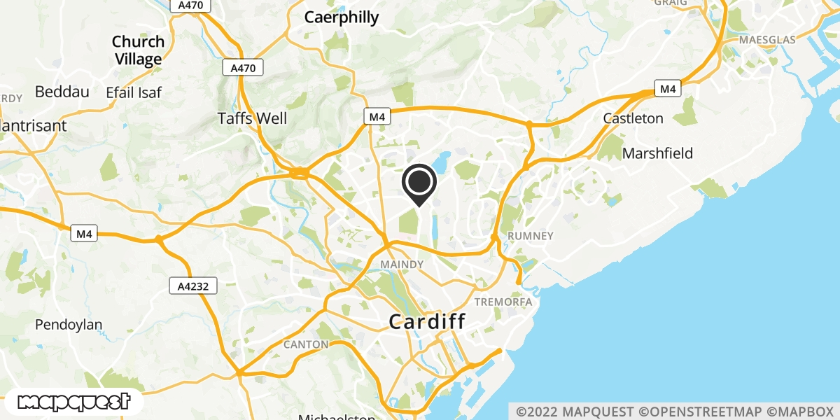 local map of watch repair drop off points in Heath, Cardiff | Repairs by Post