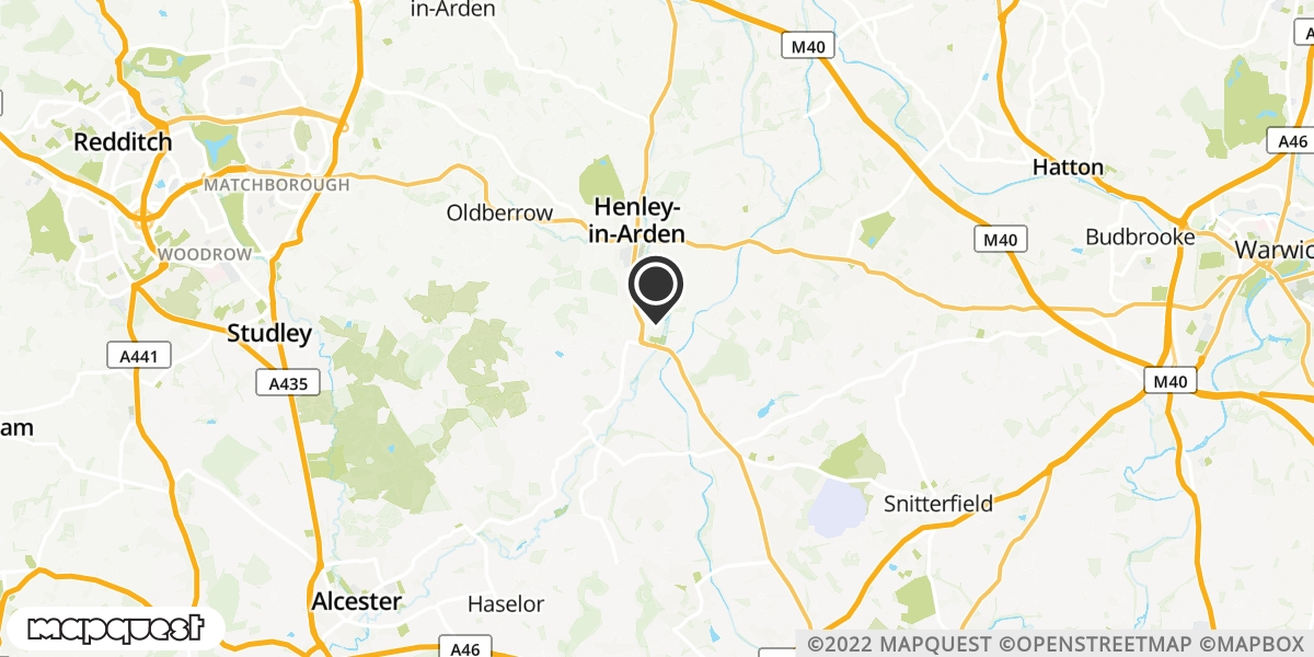 local map of watch repair drop off points in Henley In Arden, West Midlands | Repairs by Post