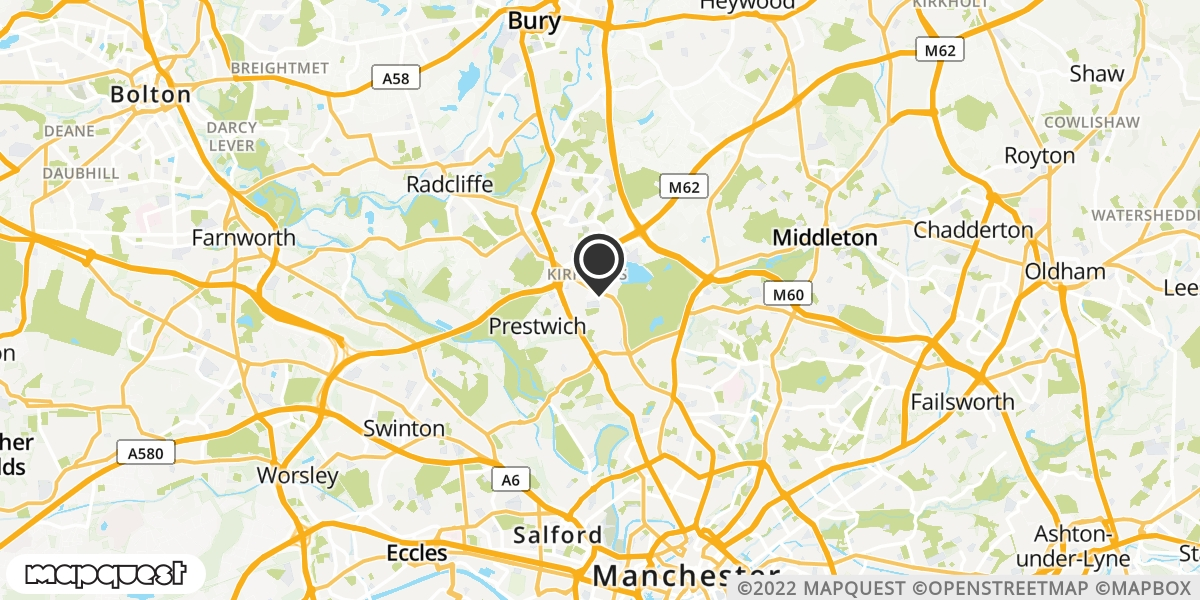 local map of watch repair drop off points in Heywood, Lancashire | Repairs by Post