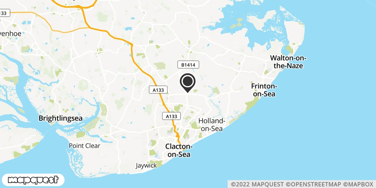 local map of watch repair drop off points in Holland on Sea, Essex | Repairs by Post