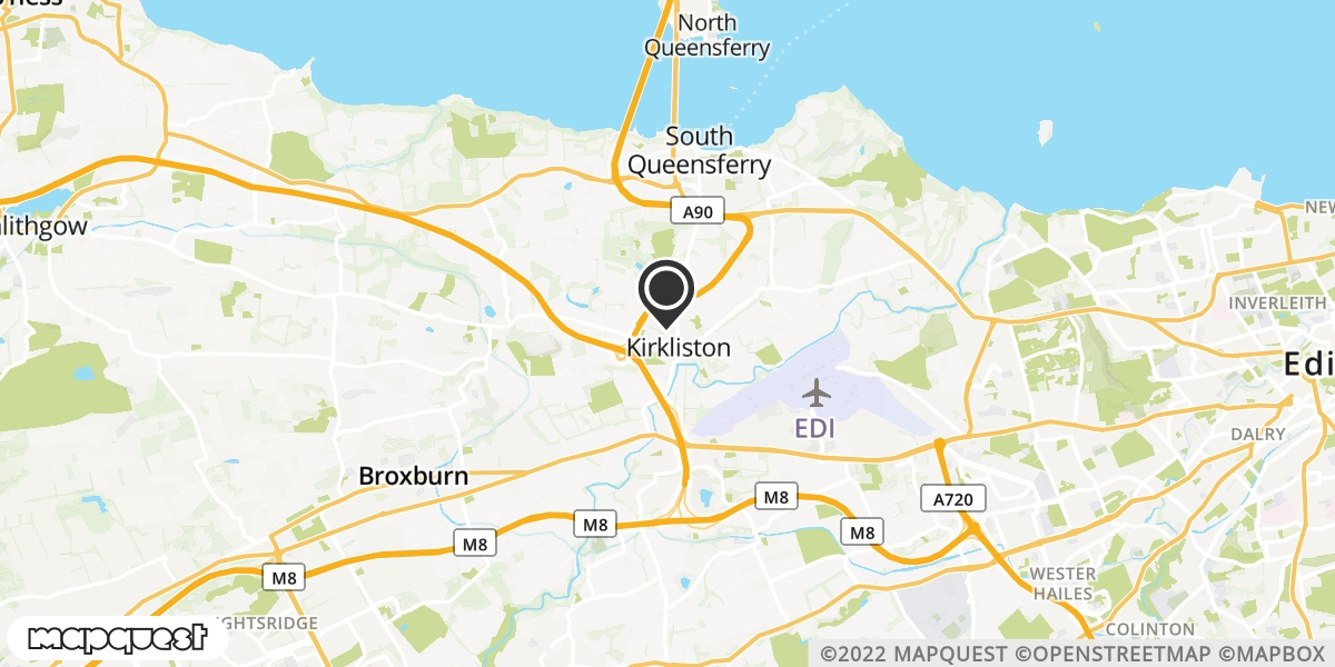 local map of watch repair drop off points in Humbie, Lothian | Repairs by Post