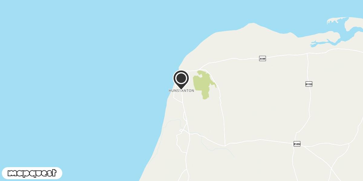 local map of watch repair drop off points in Hunstanton, Norfolk | Repairs by Post