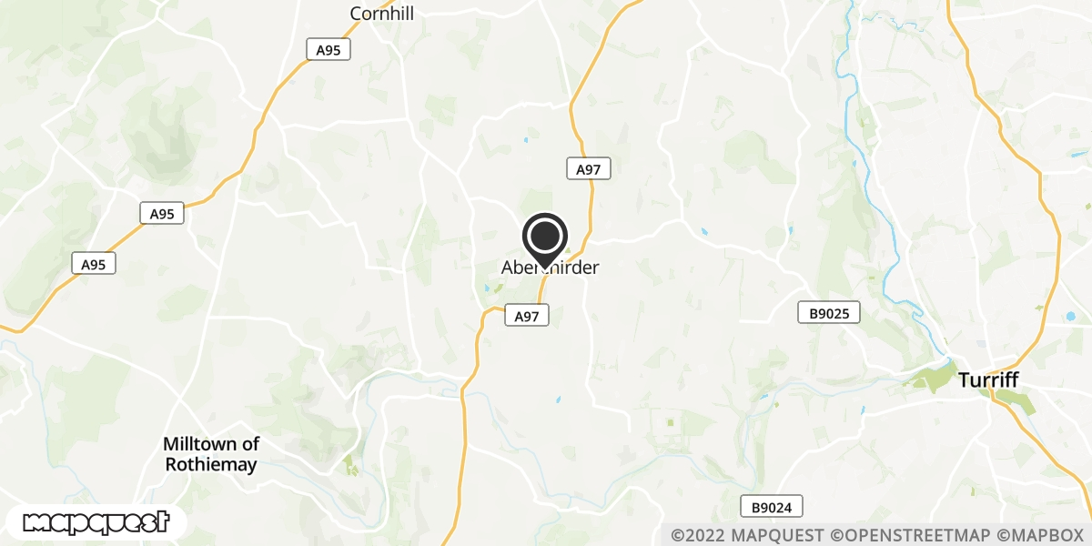 local map of watch repair drop off points in Huntly, Aberdeenshire | Repairs by Post