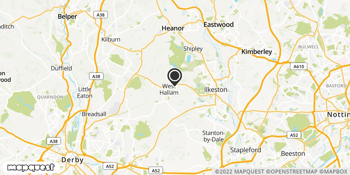local map of watch repair drop off points in Ilkeston, Derbyshire | Repairs by Post