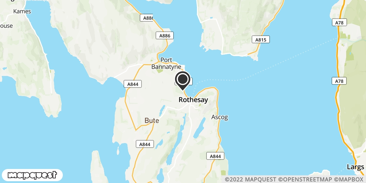 local map of watch repair drop off points in Isle Of Coll, Argyll and Bute | Repairs by Post
