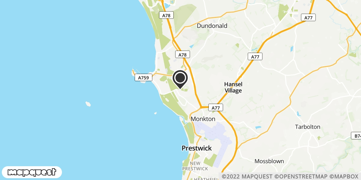 local map of watch repair drop off points in Isle of Arran, North Ayrshire | Repairs by Post