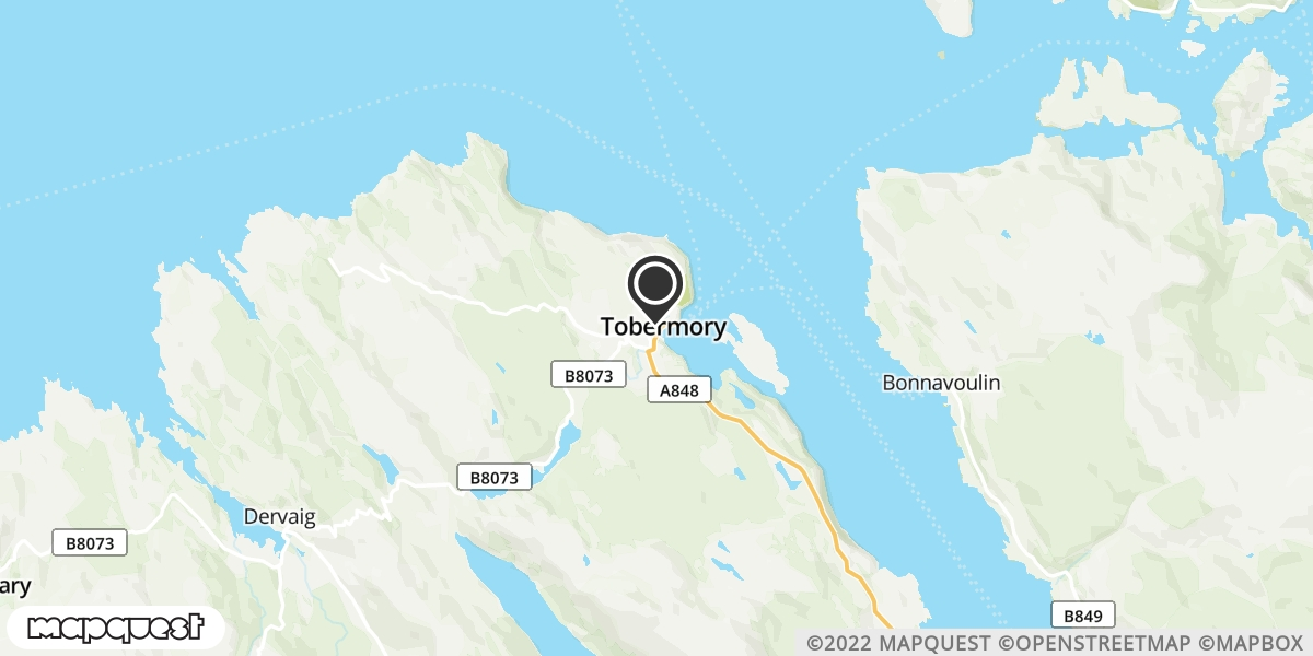 local map of watch repair drop off points in Isle of Mull, Argyll and Bute | Repairs by Post