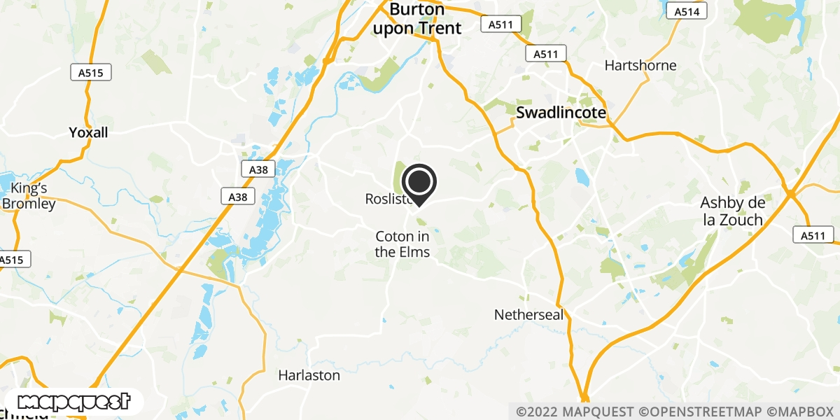 local map of watch repair drop off points in Linton, Derbyshire | Repairs by Post