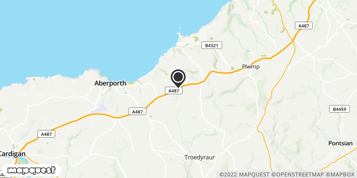 local map of watch repair drop off points in Llanon, Ceredigion | Repairs by Post