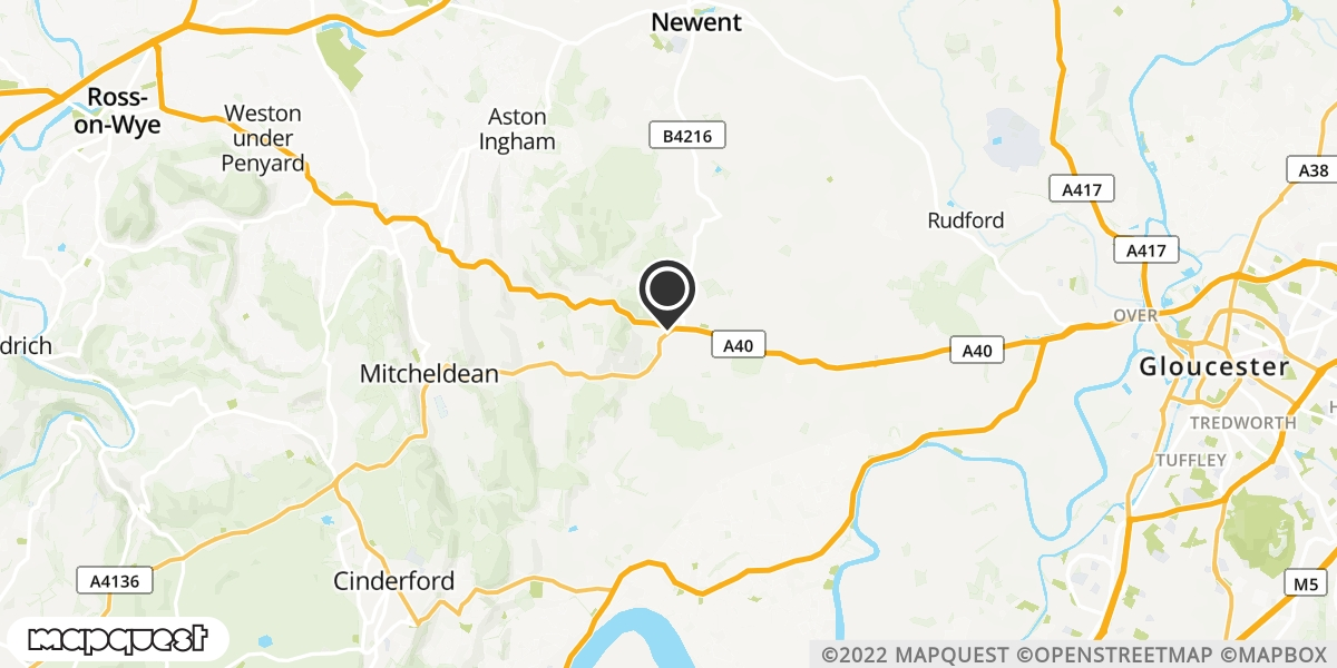 local map of watch repair drop off points in Longhope, Gloucestershire | Repairs by Post