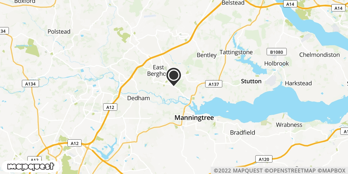local map of watch repair drop off points in Manningtree, Essex | Repairs by Post
