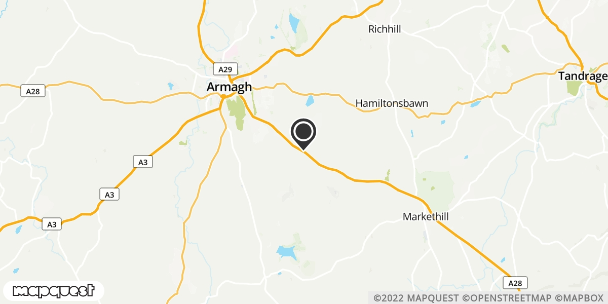 local map of watch repair drop off points in Markethill, County Armagh | Repairs by Post