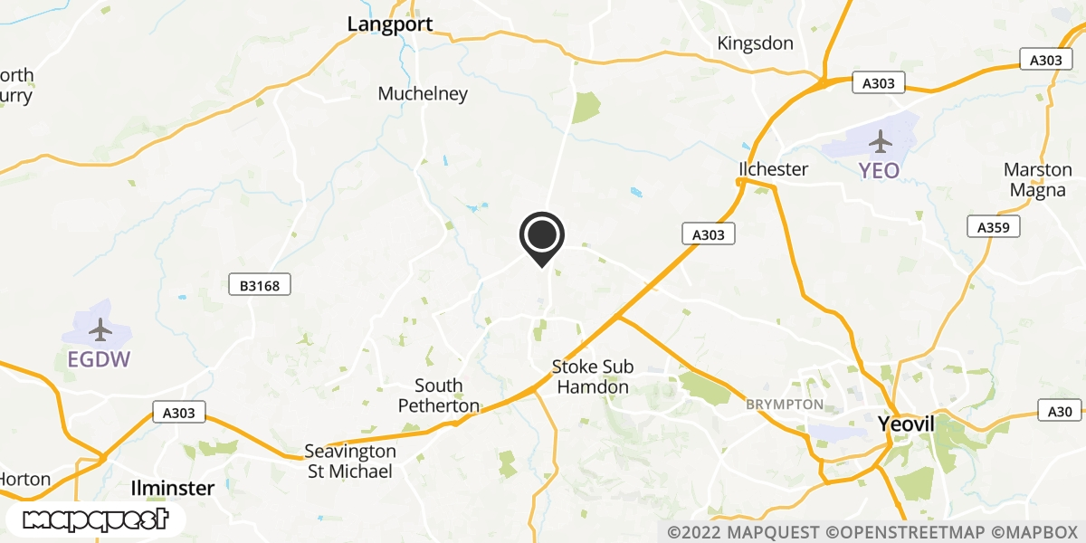 local map of watch repair drop off points in Martock, Somerset   Repairs by Post