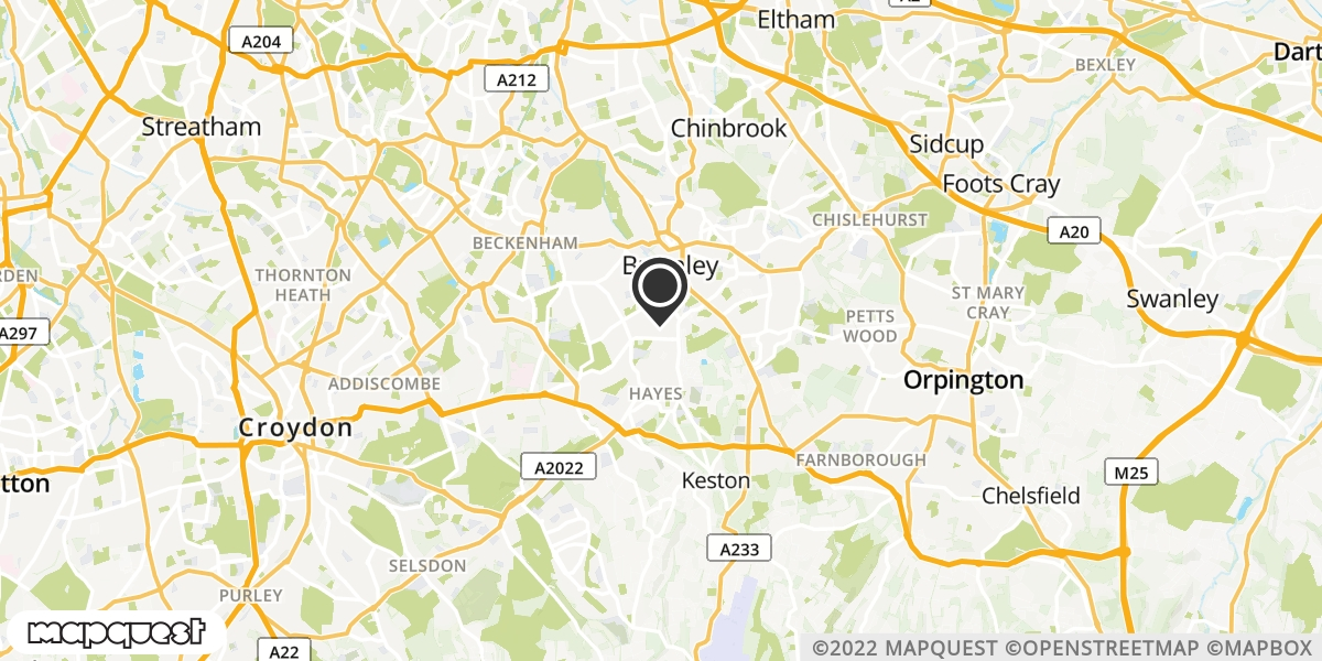 local map of watch repair drop off points in Matfield, Kent | Repairs by Post