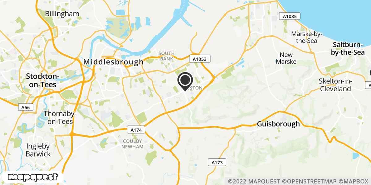 local map of watch repair drop off points in Middlesbrough, Cleveland | Repairs by Post
