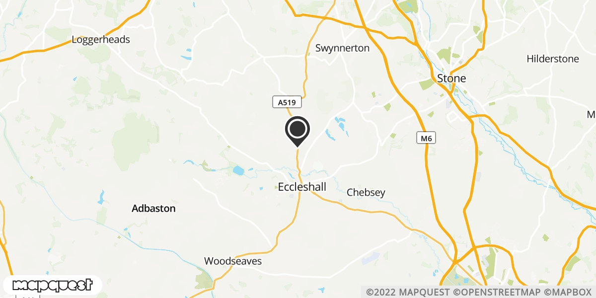 local map of watch repair drop off points in NEWCASTLE, Staffordshire | Repairs by Post
