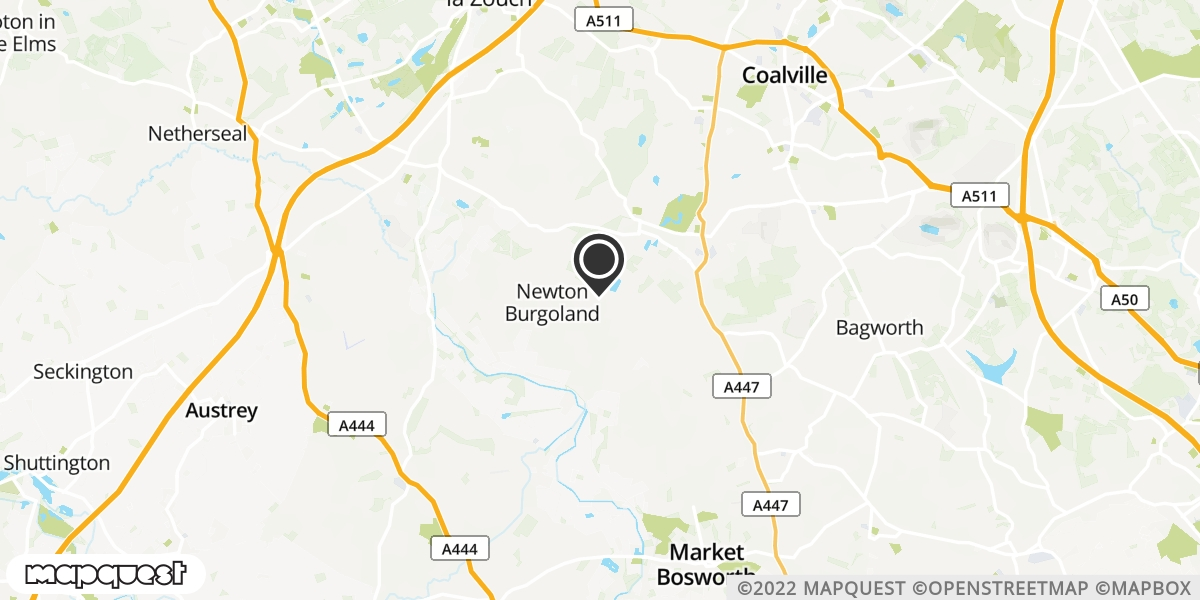 local map of watch repair drop off points in Newton Burgoland, Leicestershire | Repairs by Post