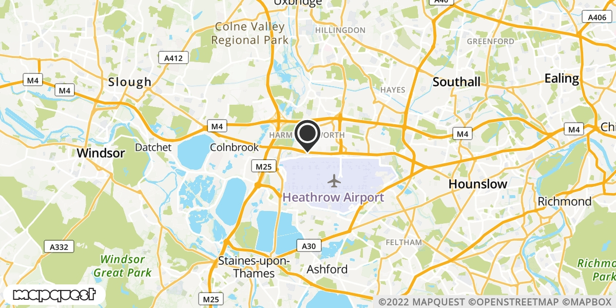 local map of watch repair drop off points in Northolt, Middlesex | Repairs by Post