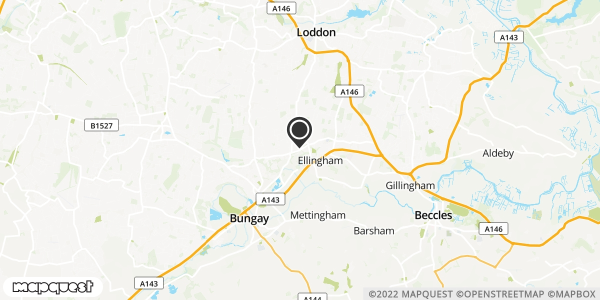 local map of watch repair drop off points in Nr Bungay, Suffolk | Repairs by Post
