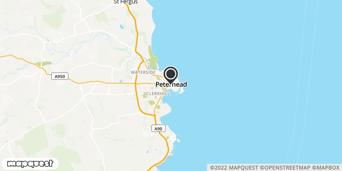 local map of watch repair drop off points in Peterhead, Aberdeenshire | Repairs by Post