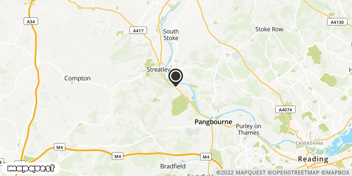local map of watch repair drop off points in Reading, Berkshire | Repairs by Post