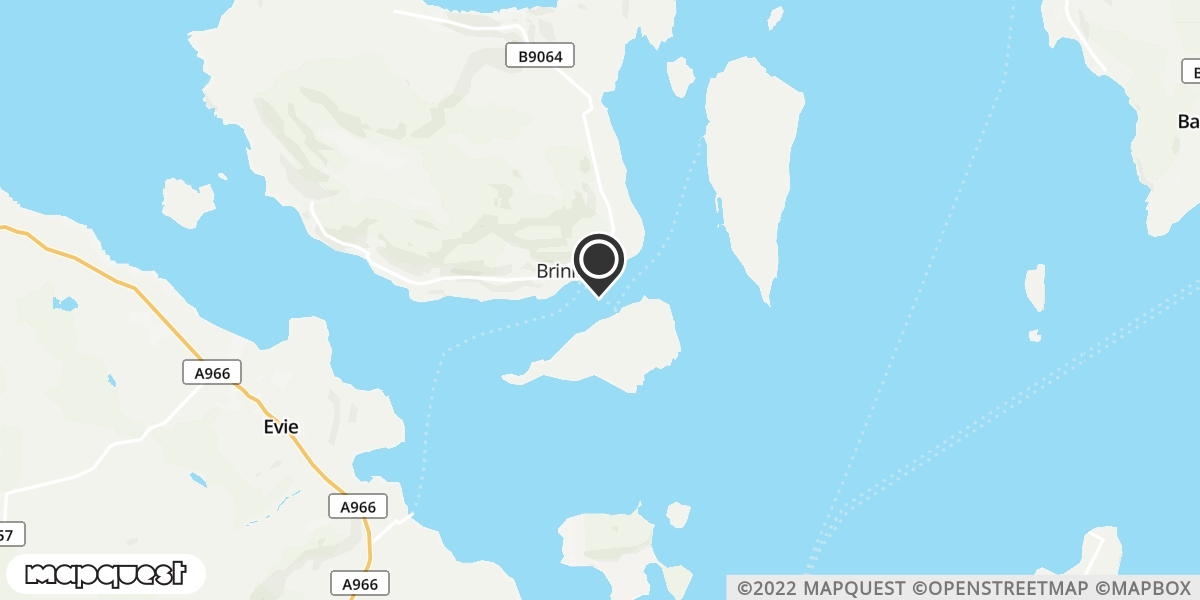 local map of watch repair drop off points in Rousay, Orkney | Repairs by Post