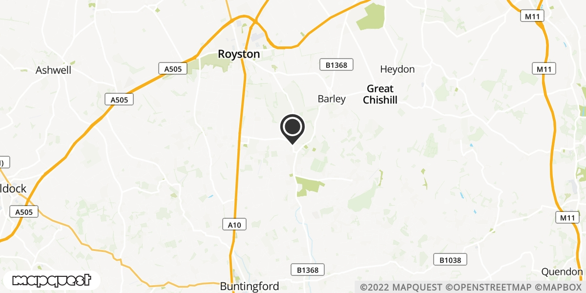 local map of watch repair drop off points in Royston, Hertfordshire | Repairs by Post