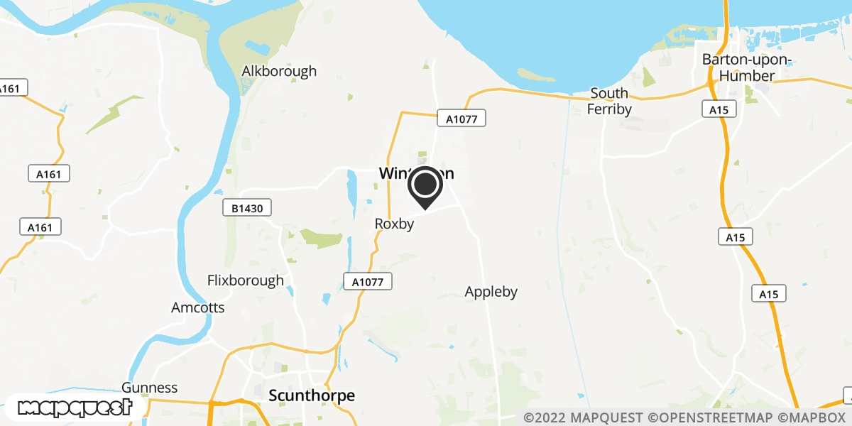 local map of watch repair drop off points in SCUNTHORPE, North Lincolnshire | Repairs by Post