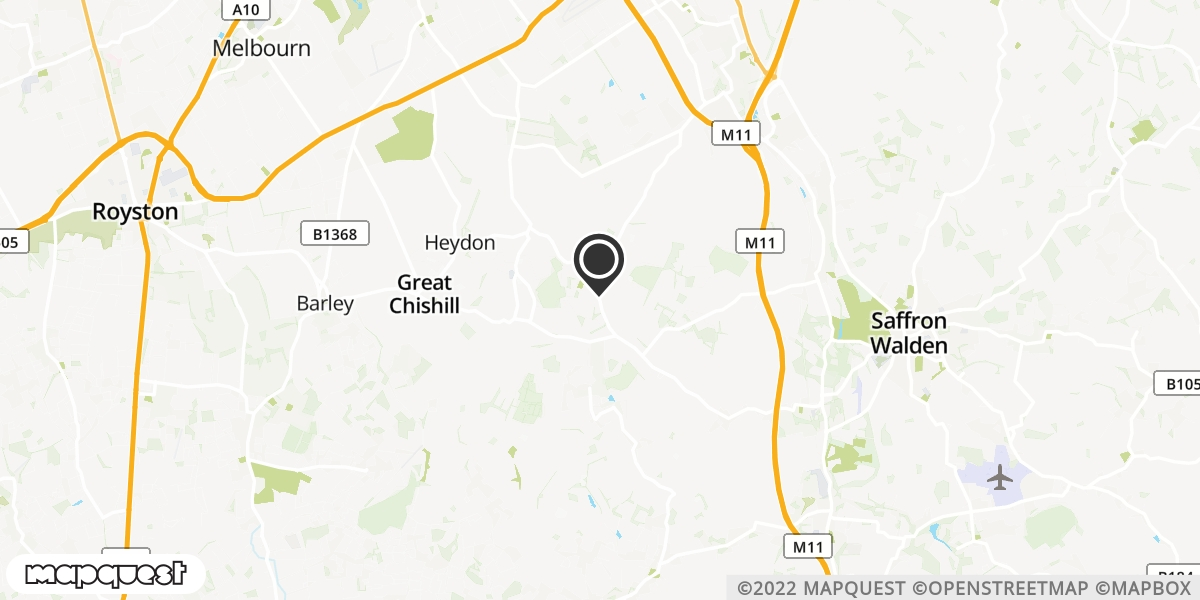 local map of watch repair drop off points in Saffron Walden, Essex | Repairs by Post