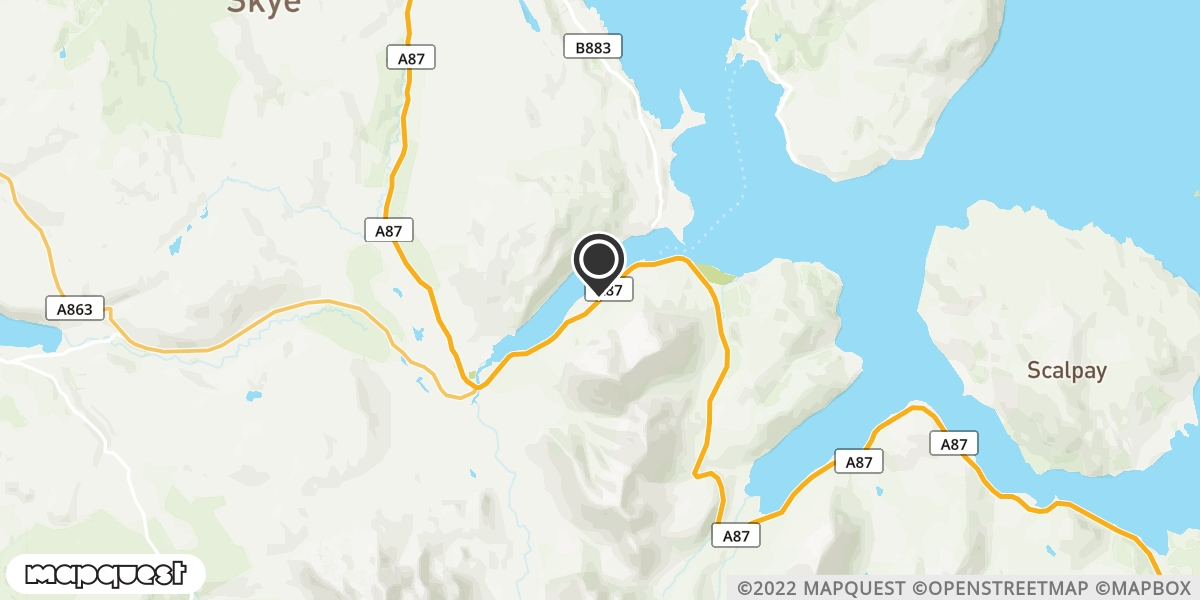 local map of watch repair drop off points in Sconser, Isle of Skye | Repairs by Post