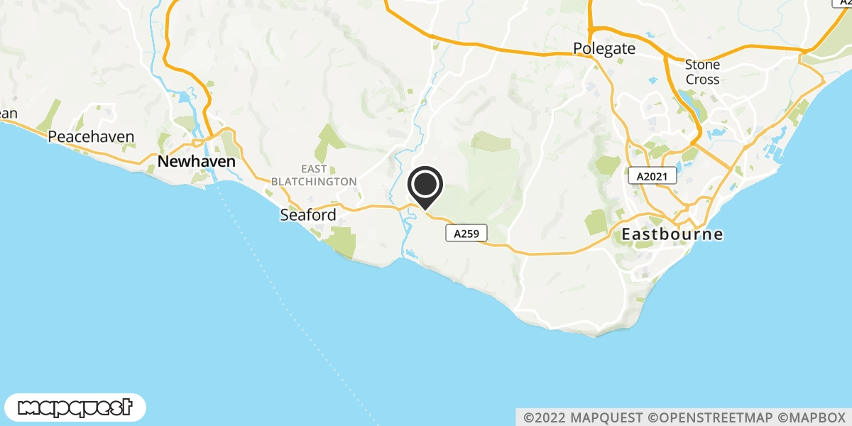 local map of watch repair drop off points in Seaford, East Sussex | Repairs by Post