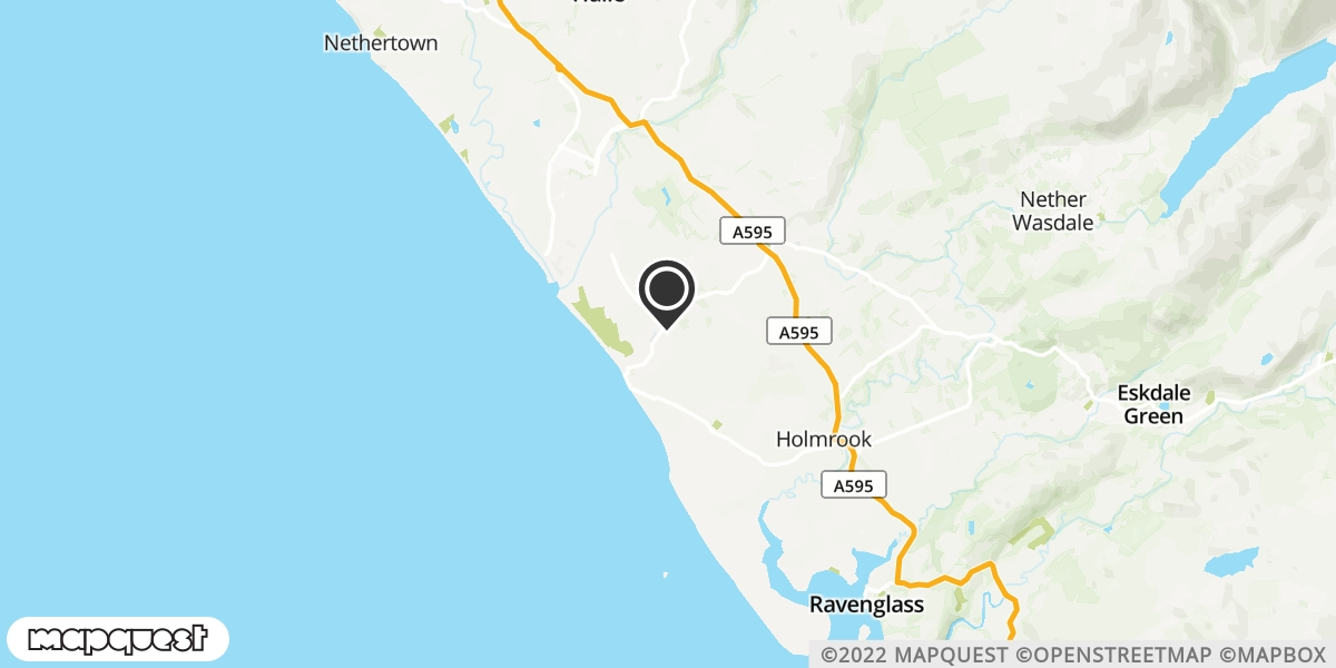 local map of watch repair drop off points in Seascale, Cumbria | Repairs by Post