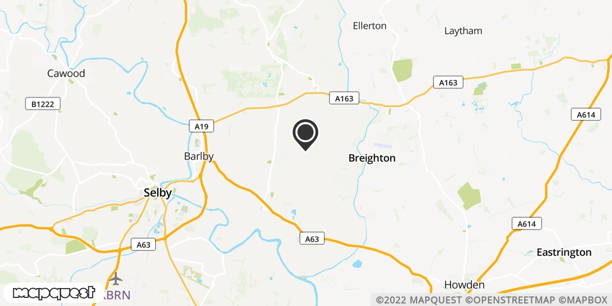 local map of watch repair drop off points in Selby, North Yorkshire | Repairs by Post