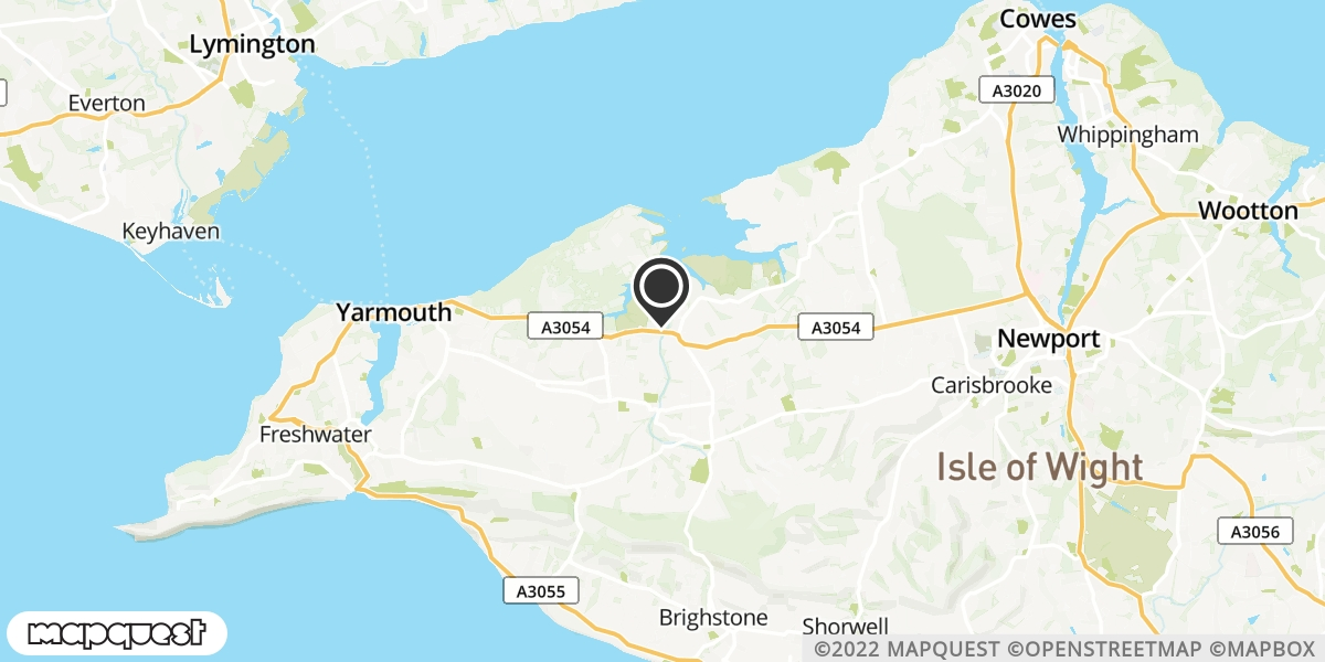 local map of watch repair drop off points in Shalfleet, Isle of Wight | Repairs by Post