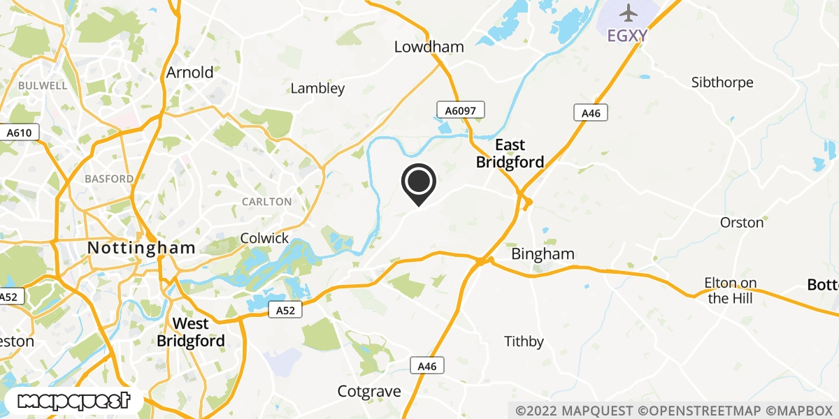 local map of watch repair drop off points in Shelford, Nottinghamshire | Repairs by Post