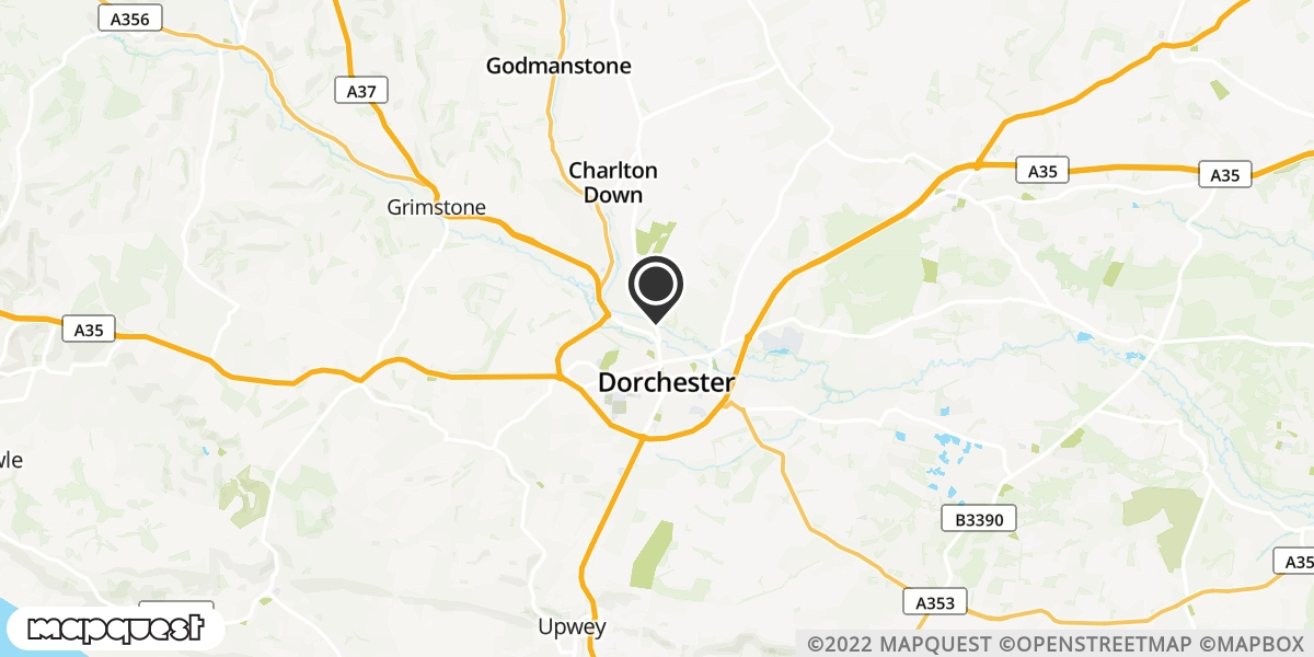 local map of watch repair drop off points in Sherbone, Dorset | Repairs by Post