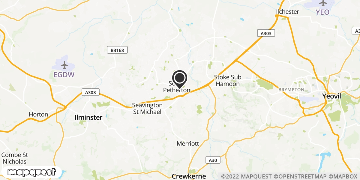 local map of watch repair drop off points in South Petherton, Somerset | Repairs by Post