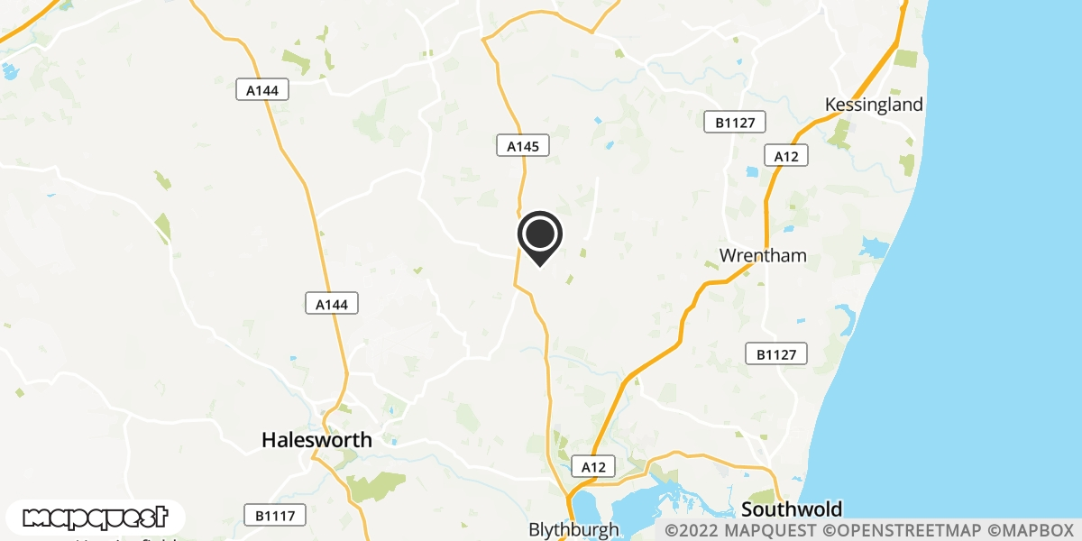 local map of watch repair drop off points in Southwold, Suffolk | Repairs by Post