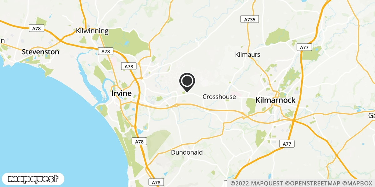 local map of watch repair drop off points in Springside, Ayrshire | Repairs by Post