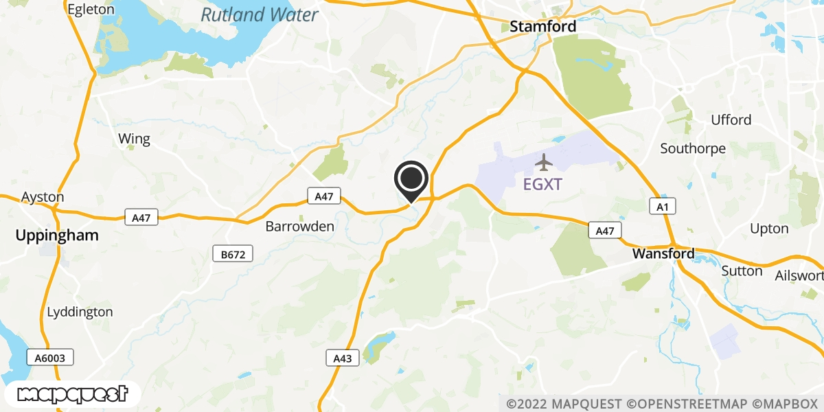local map of watch repair drop off points in Stamford, Lincolnshire | Repairs by Post