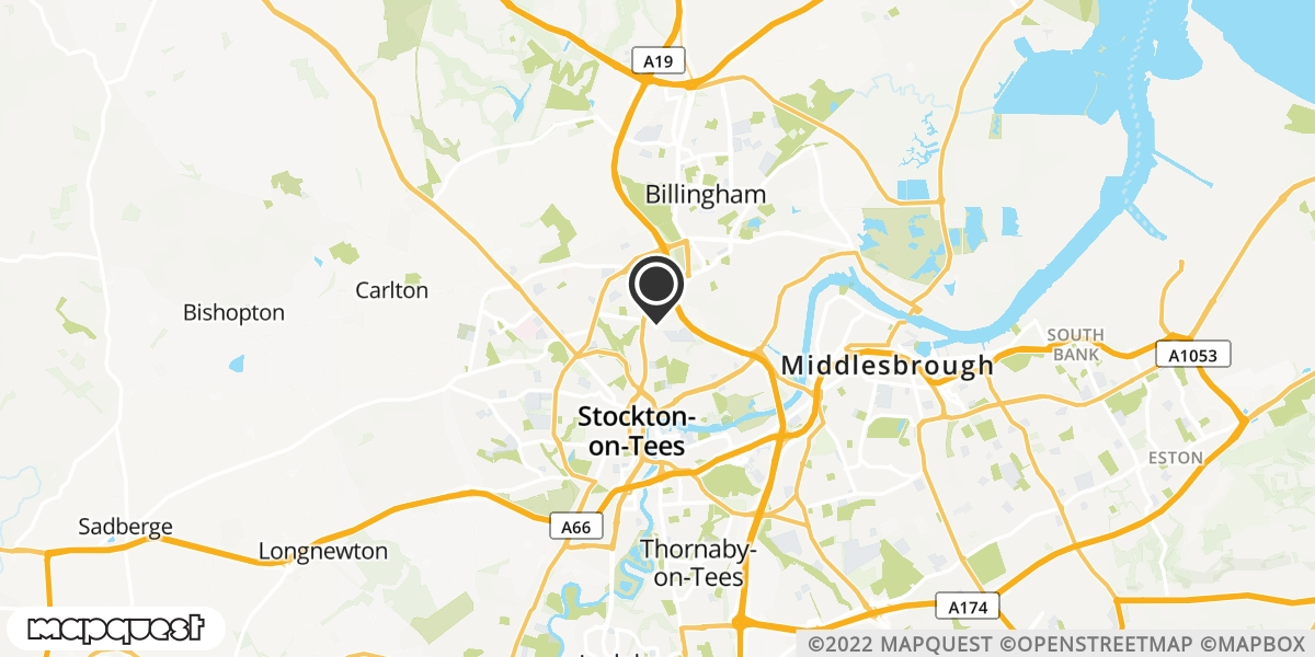 local map of watch repair drop off points in Stochton-On_tees, Cleveland | Repairs by Post