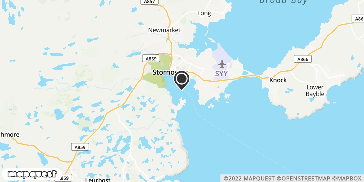 local map of watch repair drop off points in Stornoway, Isle of Lewis | Repairs by Post