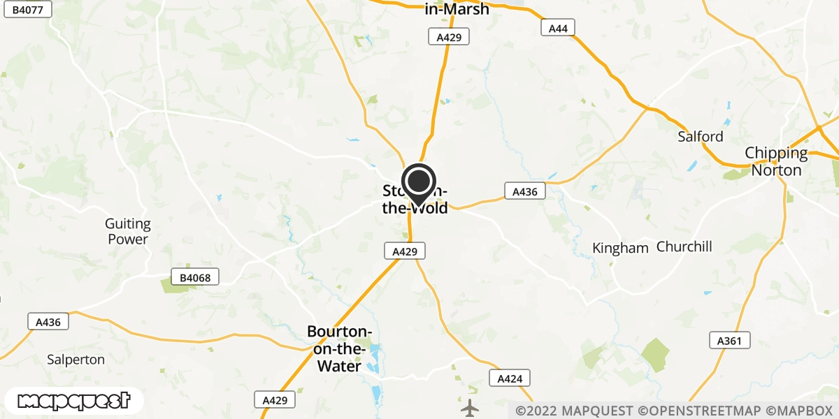 local map of watch repair drop off points in Stow-On-The-Wold, Gloucestershire | Repairs by Post