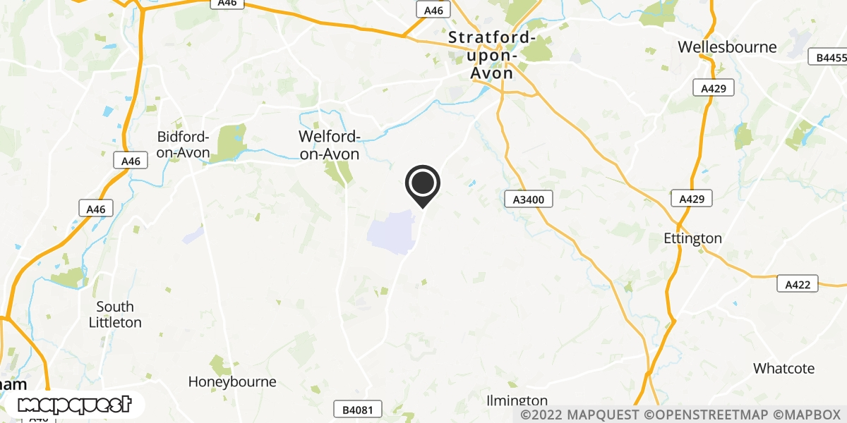 local map of watch repair drop off points in Stratford upon Avon, Warwickshire | Repairs by Post