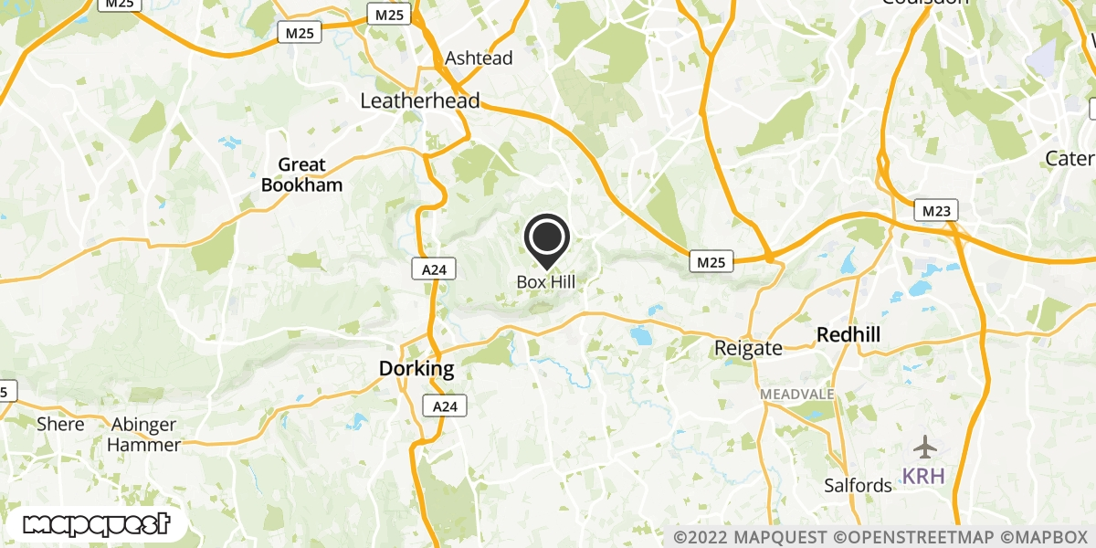 local map of watch repair drop off points in Tadworth, Surrey | Repairs by Post